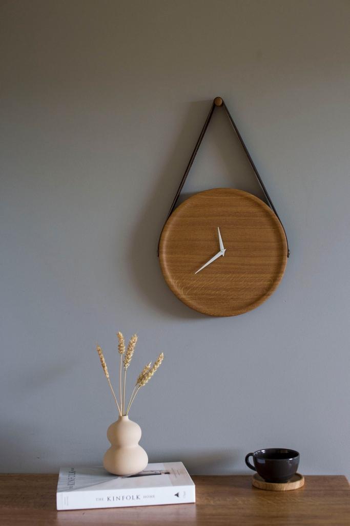 Ąžuolinis laikrodis